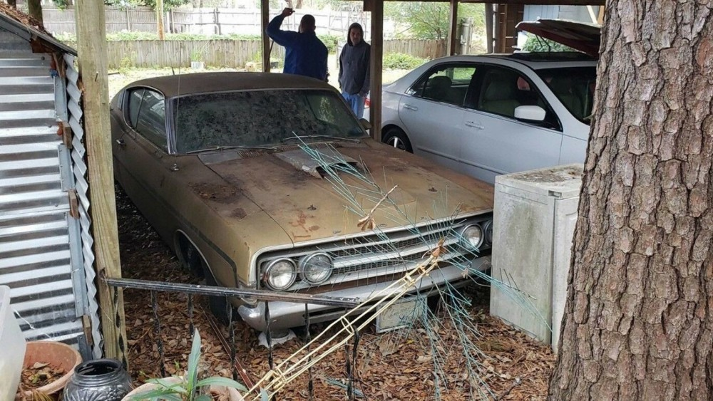 1969 Ford Torino GT Cobra Jet Barn Find Of 44 Years