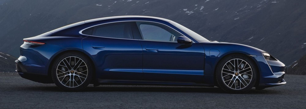 The all-electric Porsche Taycan debuts as the world's most powerful sedan