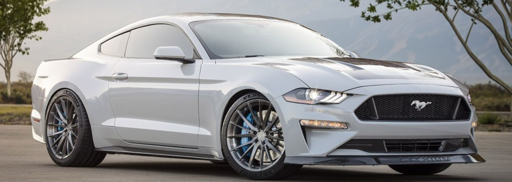 Here's the first electric Ford Mustang