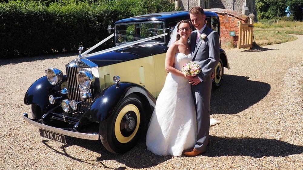Bride Rides In Lost Uncle's Rolls Royce To Wedding