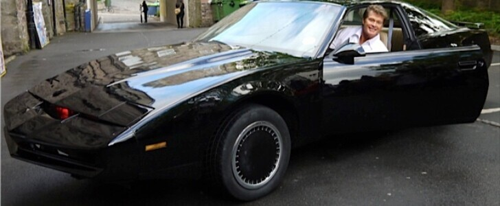 David Hasselhoff's personal KITT replica is being auctioned and he'll deliver it to the winner