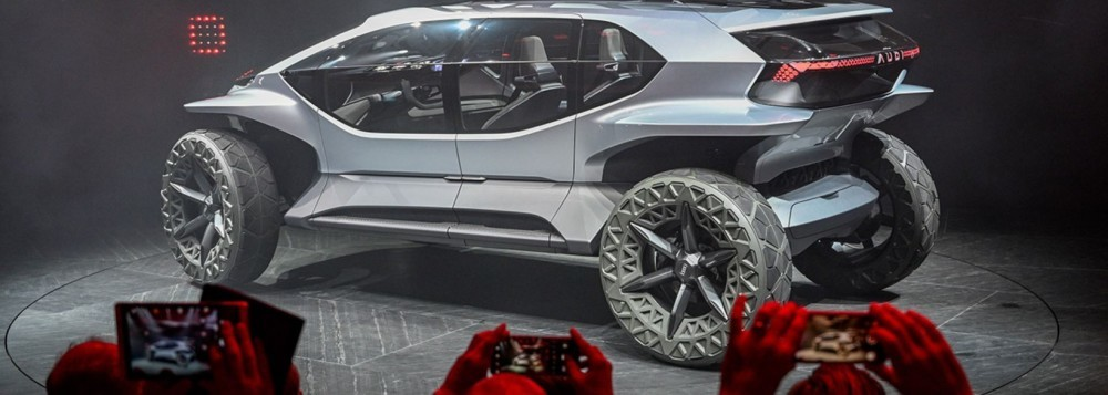 The Audi AI: Trail is the SUV of the future