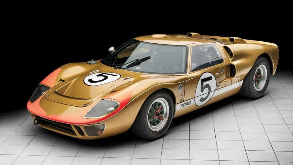 Historic 1966 Ford GT40 Could Bring $12M