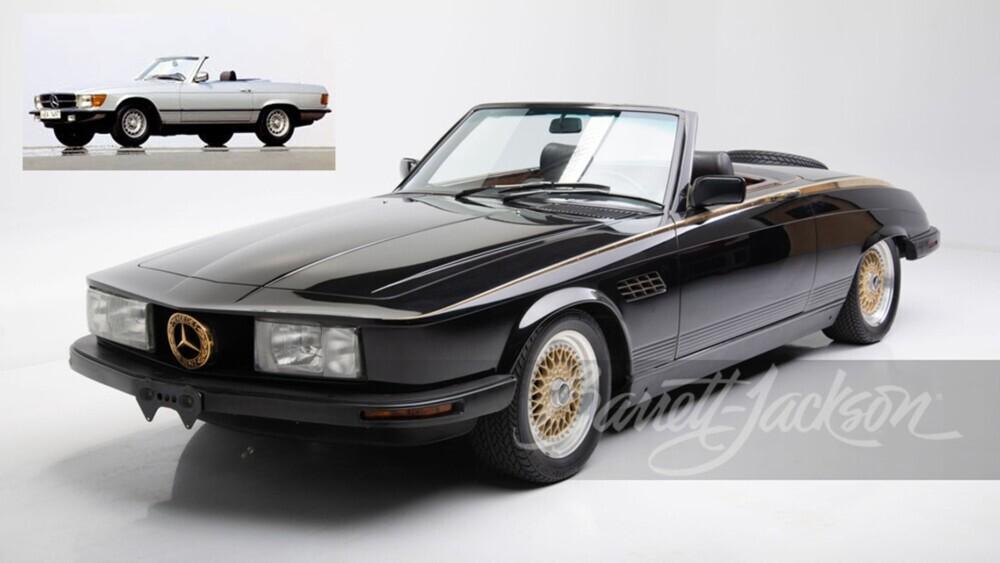 Wayne Newton's wild custom Mercedes-Benz is up for auction