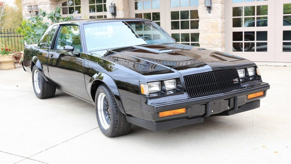 1987 Buick GNX With Only 8.5 Miles Sells For $200,000