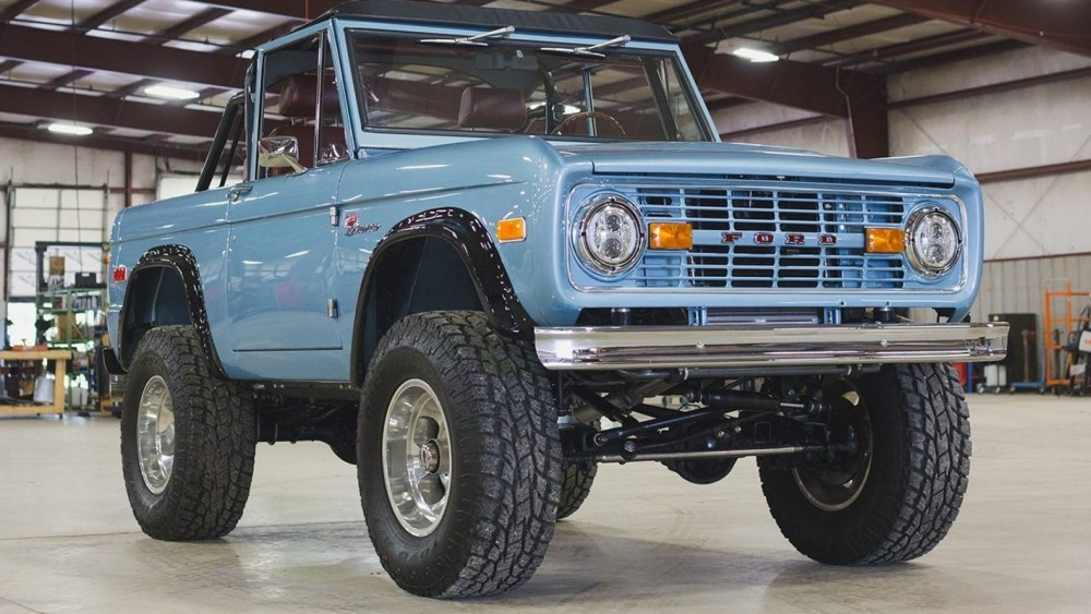 Brand New Classic Ford Broncos Now Available