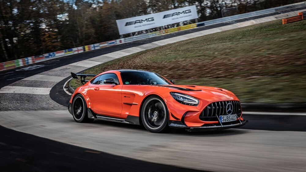 The Mercedes-AMG GT Black Series is the world's fastest car