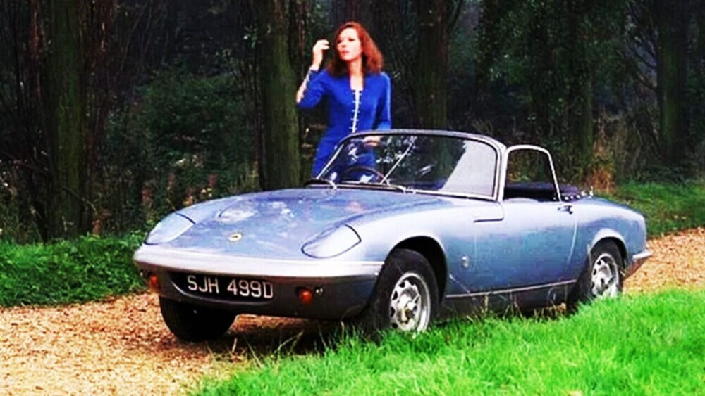 Diana Rigg's 'The Avengers' character Emma Peel helped make the Lotus Elan famous