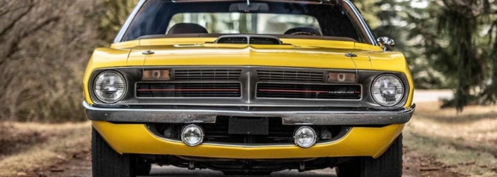 A Rare 1970 Plymouth Hemi Cuda Sells For Nearly $2M
