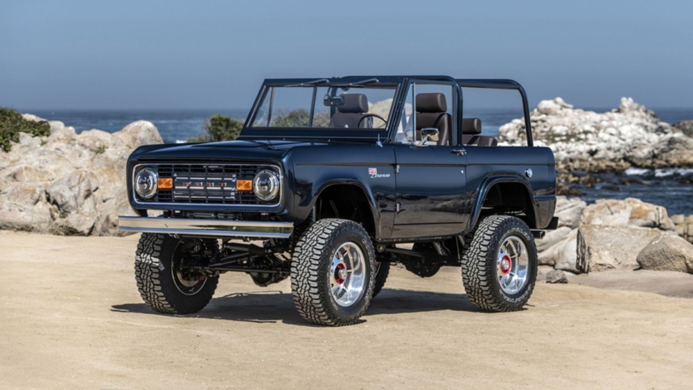 A 1974 Ford Bronco sells for $650,000 at Barrett-Jackson