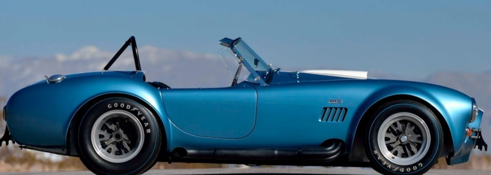 Collection Of Three Shelby Cobras Sell For $7M At Auction