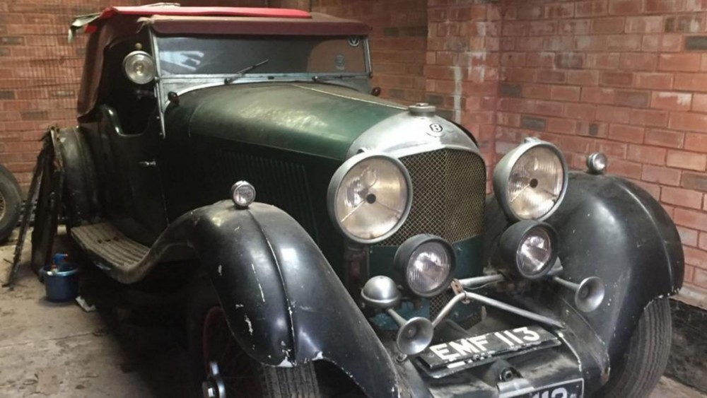 Pilot Who Helped Bomb Hitler's 'Eagles Nest' Sells 1936 Bentley 4.5L Vanden Plas Tourer
