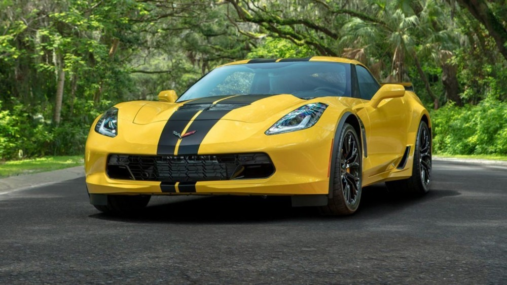 Used Hertz 100th Anniversary Chevrolet Corvette Z06 Cars Are Selling For $90,000 PLUS