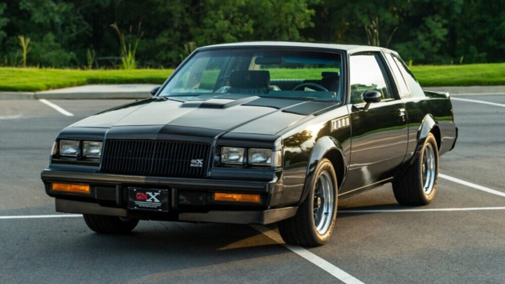 Rare 1987 Buick GNX muscle set to break $215,000 auction record