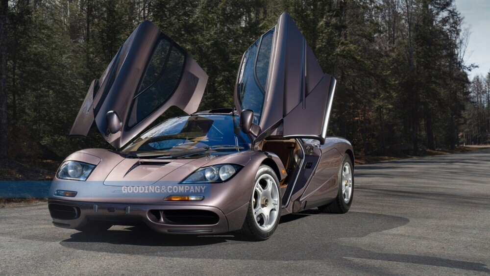 A 1995 McLaren F1 supercar just sold for a record $20M