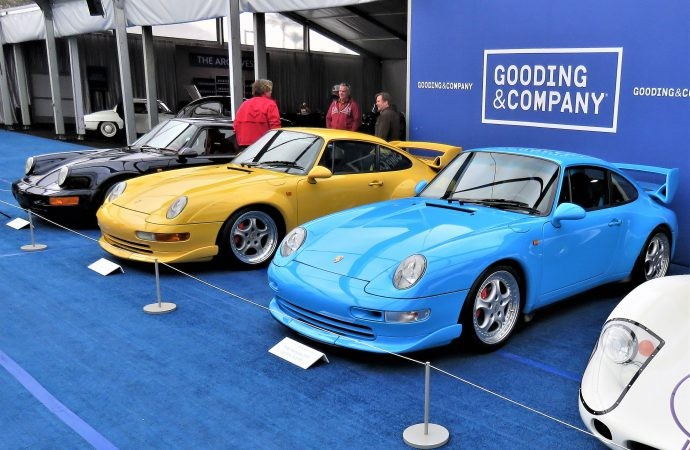 High-Performance Porsches Highlight Gooding & Company Amelia Island Auction