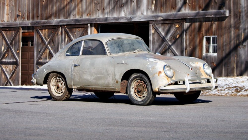 Barnfind Rusty 1957 Porsche 356A 1500 GS Carrera Expected To Go For $700,000 Plus