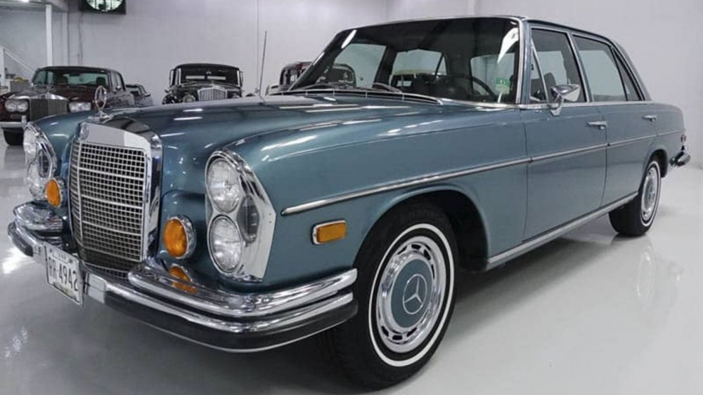 Elvis Presley's Big Blue Mercedes Is Up For Sale