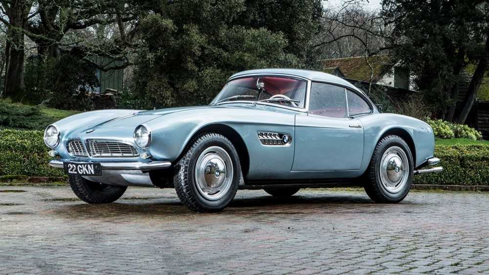 A Classic BMW 507 Roadster Owned By Racing Legend John Surtees May Fetch $3M At Auction