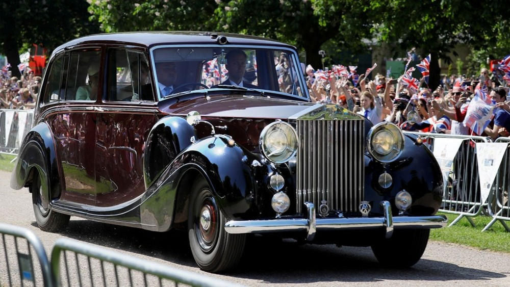 Meghan Markle's Royal Wedding Car Has Some History Behind It