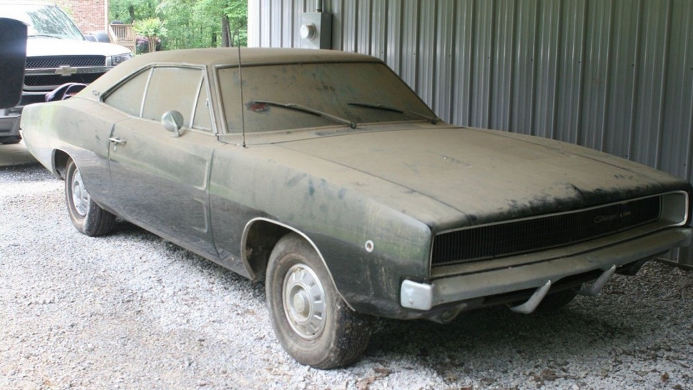 1968 Dodge Charger Barnfind Is Worth Big Bucks