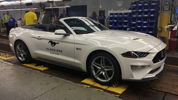 10 Millionth Ford Mustang Revealed