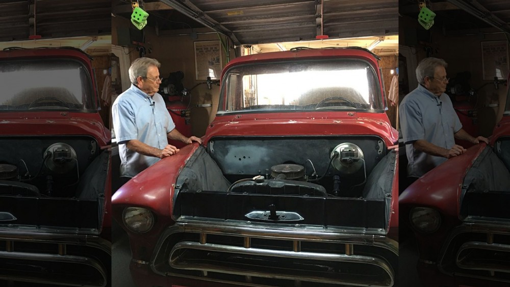 Stolen Classic 1957 Chevy Pickup From California Found In Mexican Junkyard