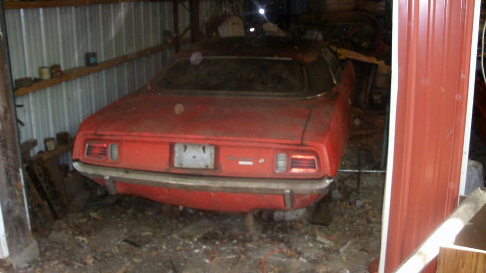 1971 Plymouth Barracuda Parked For 30 Years Is Up For Auction