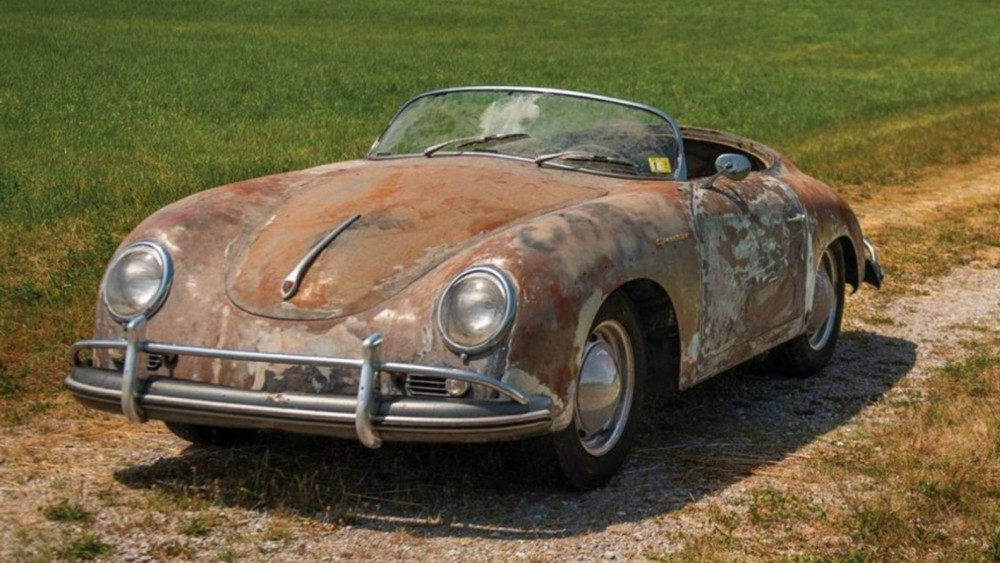 Rusty 1958 Porsche 356 Stored For 35 Years Worth BIG BUCKS