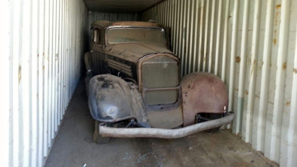 1934 Buick Series 60 Stored Away For 40 Years