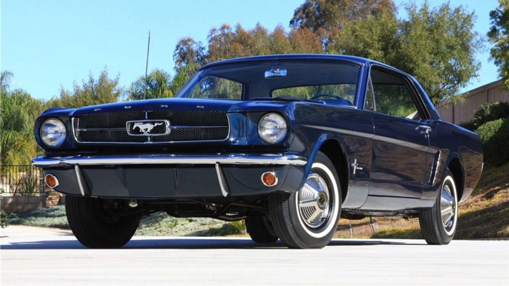 The First Mustang Ever Built Headed To Auction