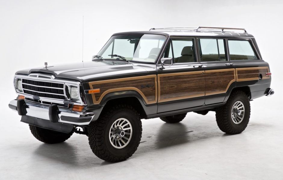 Custom Restomod Jeep Grand Wagoneer