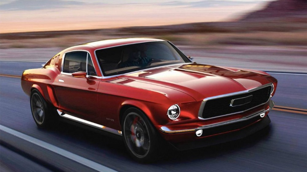 Russia Reveals Retro Electric 1967 Ford Mustang