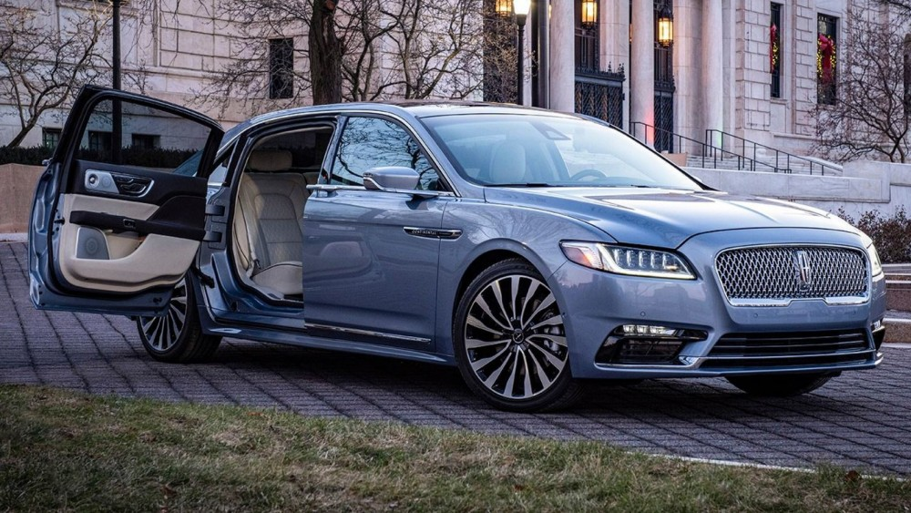 Suicide Door Lincoln Continental Is Sold Out