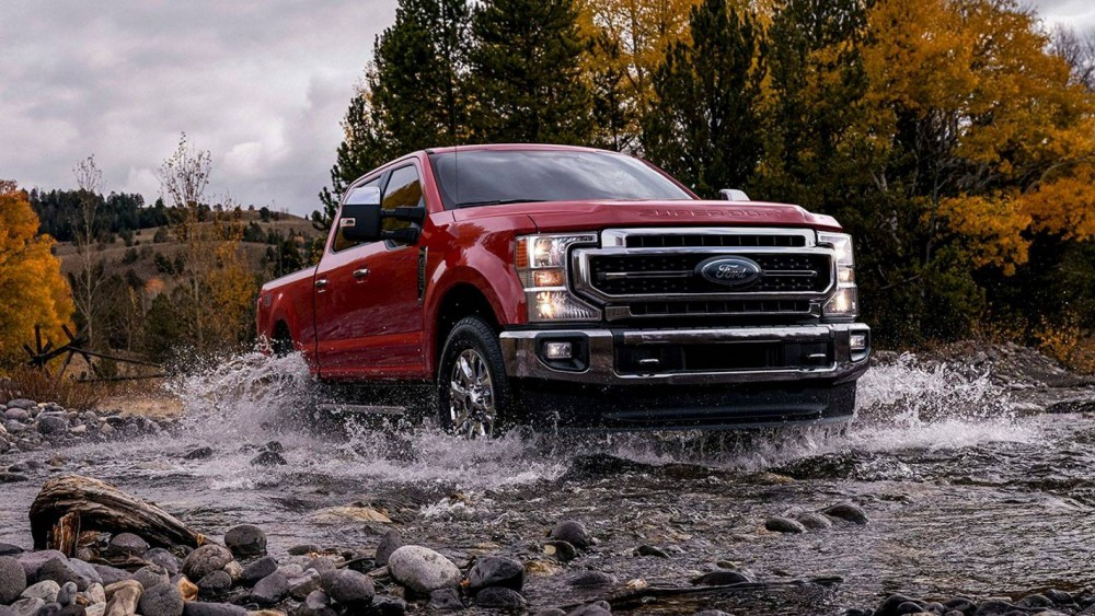 "2020 Ford F-Series Super Duty ""Godzilla"" 7.3L V8 Debuts"