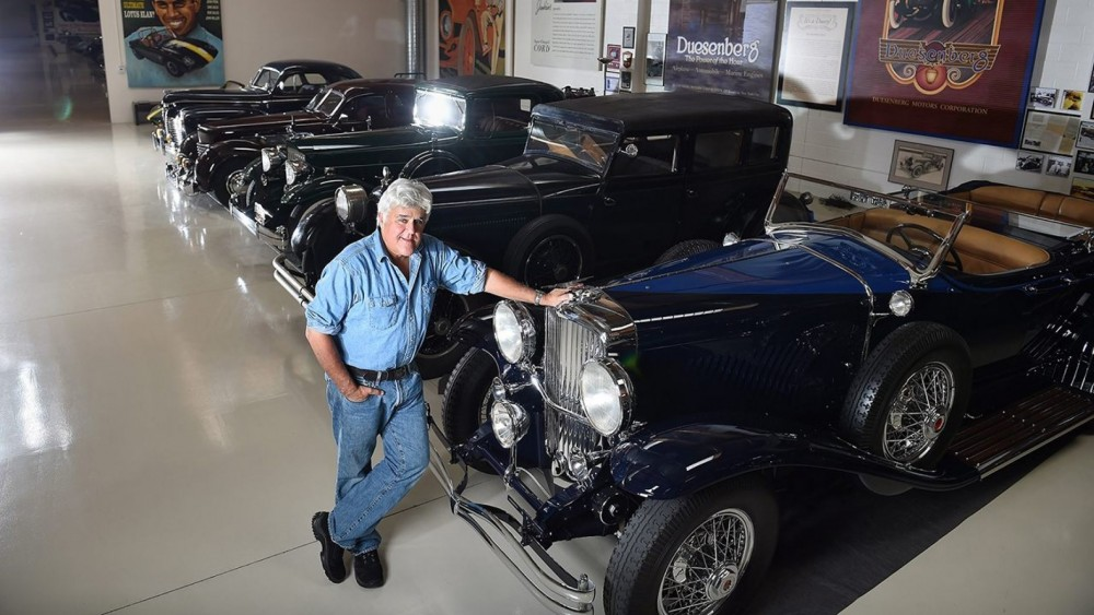 Jay Leno Likes Domestic Cars Because 'I'm American'