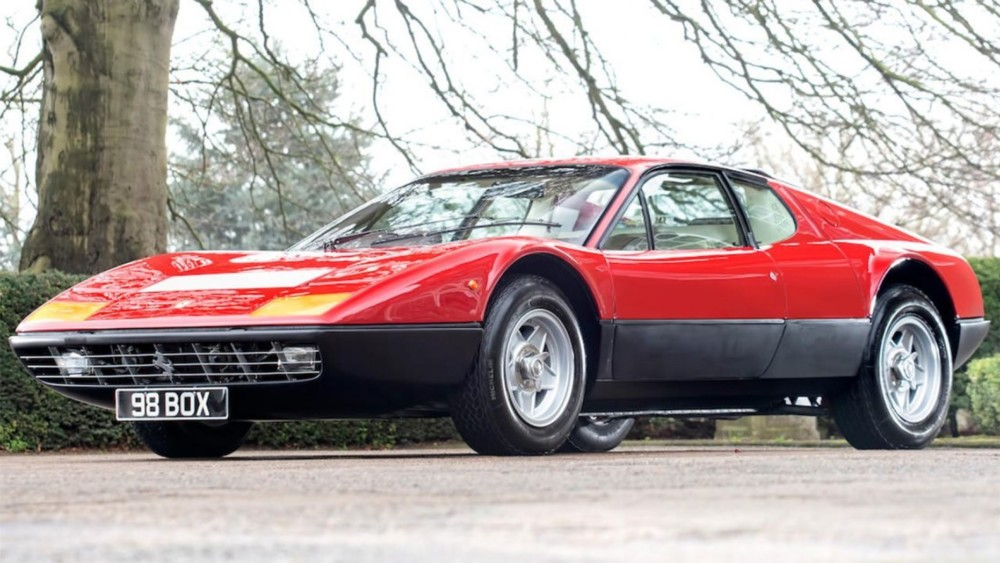 1974 Ferrari 365 GT4 BB Originally Owned By Sir Elton John Up For Sale