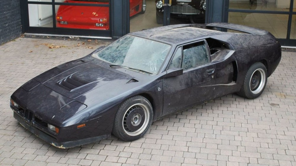 Legendary Lost BMW M1 Speed Record Supercar Found In London Garage