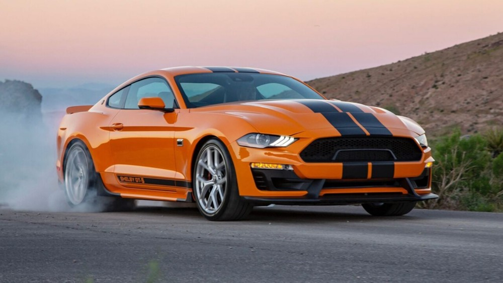 The Sixt Shelby Mustang GT-S Is The Coolest Rental Car Of