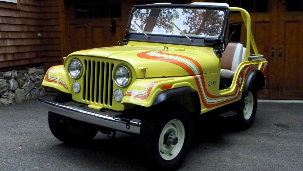 Rare 1973 CJ-5 Super Jeep Is Up For Sale On Ebay For $1M