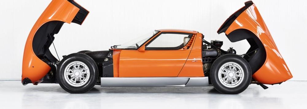After 50 Years, 'Italian Job' 1969 Lamborghini Miura P400 Found