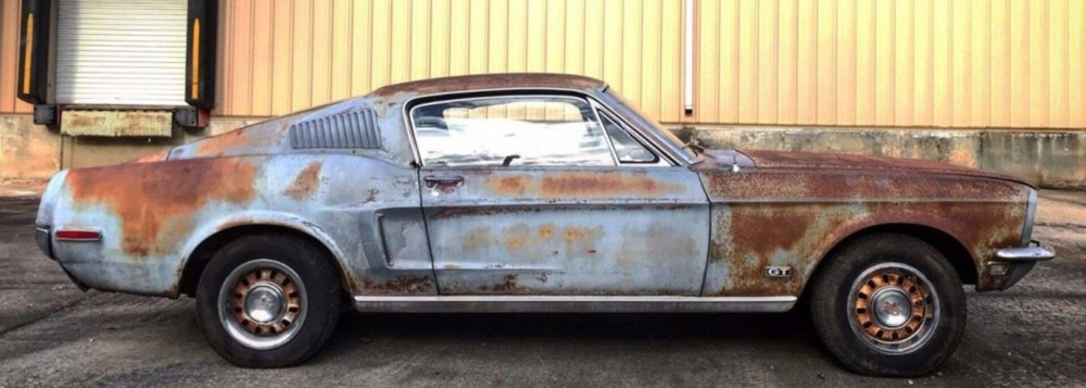 1968 Ford Mustang With Previous Owner's Ashes Inside Sells