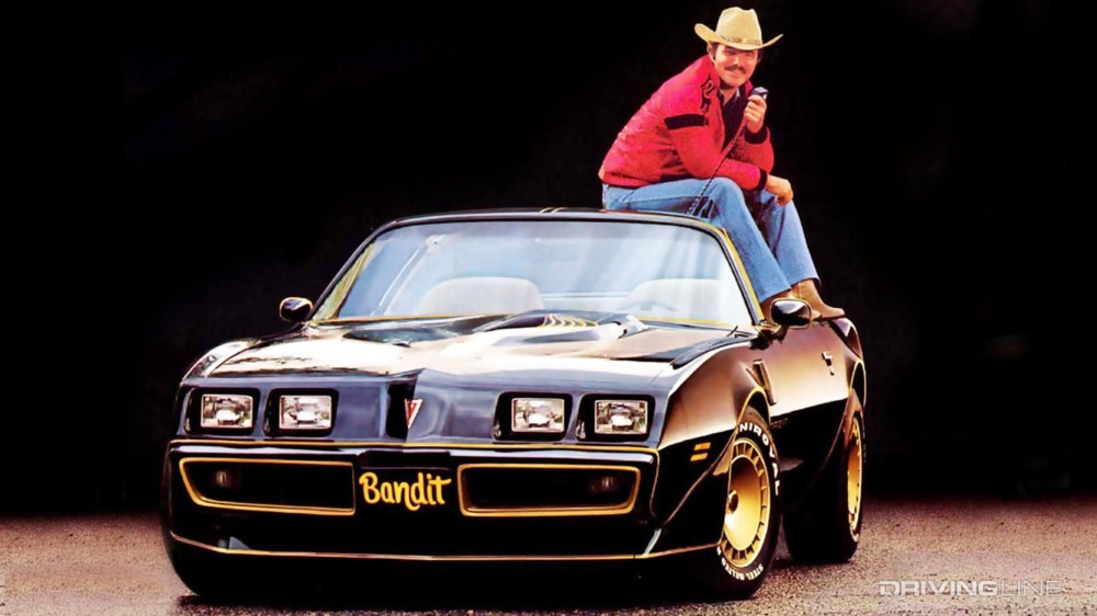 Burt Reynolds' Last Bandit Trans Am Sells For $317,500