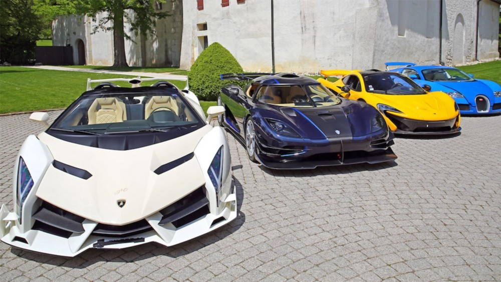 Politician's Seized $13 Million Supercar Stash To Be Auctioned For Charity