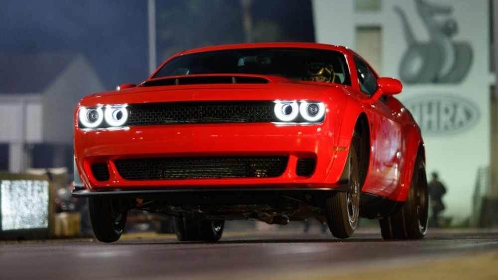 For Q3, The Dodge Challenger is King
