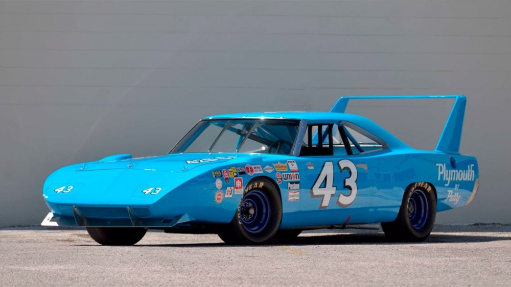 Richard Petty's NASCAR Plymouth Superbird is heading to Auction