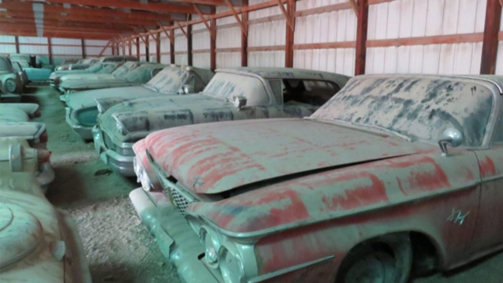 Late farmer's massive car collection going to Auction