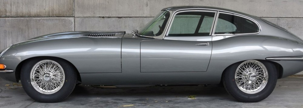 Rotting 1964 Jaguar E-Type dug out of garden after 30 years restored and worth a Fortune