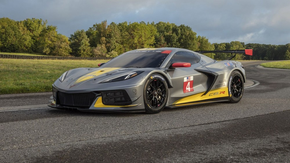 The Corvette C8.R race car engine is coming to a Dealer near you