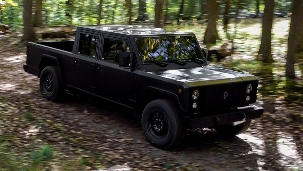 Bollinger Motors SUV and Electric Pickup to start at $125,000